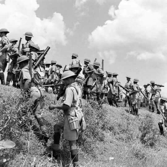 Troops of Malay Regiment 1941