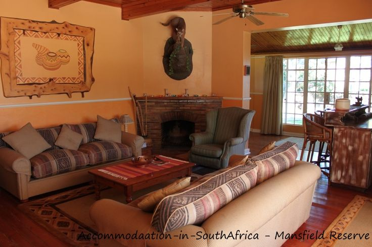 Lounge at Mansfield Reserve. Mansfield Reserve Port Alfred.