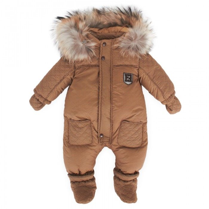 Fendi Brown Zucca Snowsuit Oh Baby Baby Pinterest