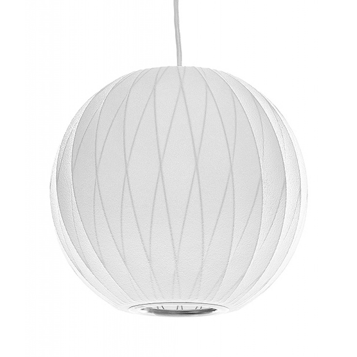 George Nelson Bubble Lamp- Ball Criss Cross Pendant | Mod Livin' | $299