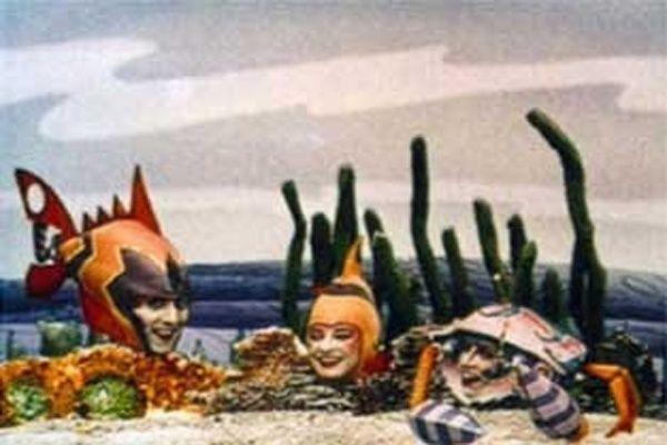Glub-Glub' - Os apresentadores deste programa infantil da TV Cultura de São Paulo eram dois peixes, ou melhor, dois atores caracterizados como um casal de peixes. No roteiro, uma discussão que culminava com uma lição de moral e a exibição de animações que passavam em uma televisão,que caiu no fundo do mar e funcionava abastecida por um peixe-elétrico.