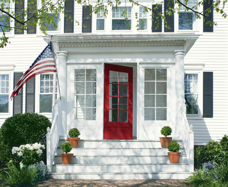 Front Door Color Ideas and Inspiration & 91 best Colorful Doors images on Pinterest | The doors Entrance ...