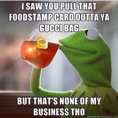 kermit the frog none of your business | Kermit the Frog But That's None Of My Business Tho meme | Swagger New ...