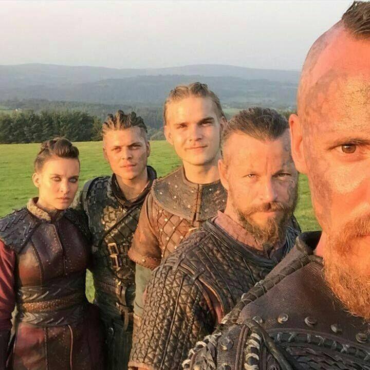 Vikings - 4B - Astrid, Ivar, Hvitserk, Harald, Halfdan