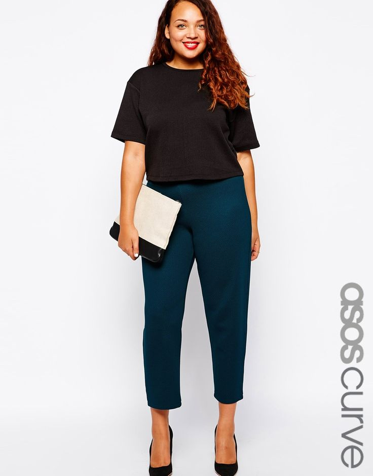 ASOS CURVE | Legging With High Waist In Shimmer Disco