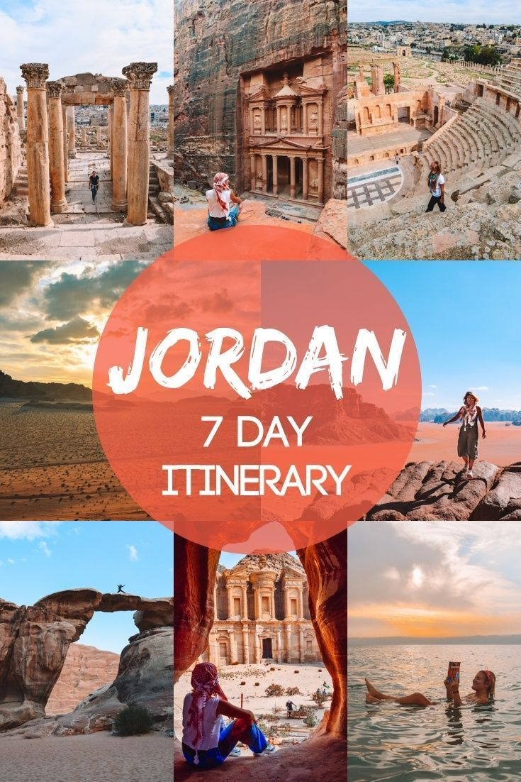 7 Day Jordan Itinerary How To Spend 1 Epic Week In Jordan Jordan Travel Wadi Rum Travel