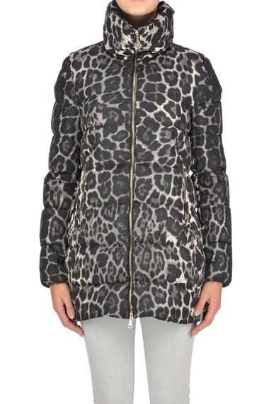 Buy Moncler Down Jackets on glamest.com Fashion Outlet, select the Moncler Torcelle animal print down jacket of your choice up to 45% off.