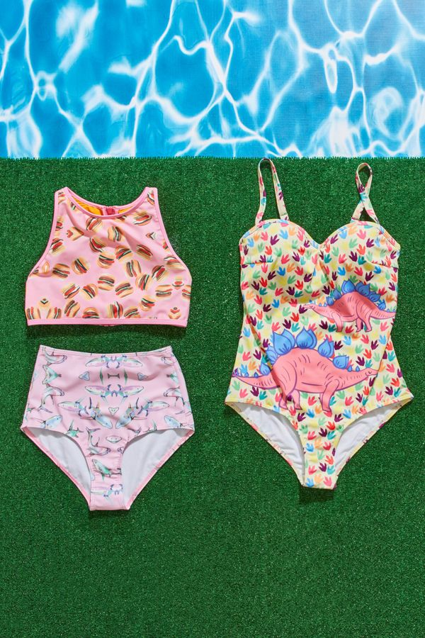 Take the plunge in swimwear that makes major waves!