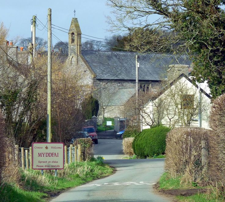 Myddfai is a small village and community in Carmarthenshire, Wales. The village is a popular tourist destination, famous for the history and heritage of the Physicians of Myddfai and the Legend of 'The Lady of The Lake'.