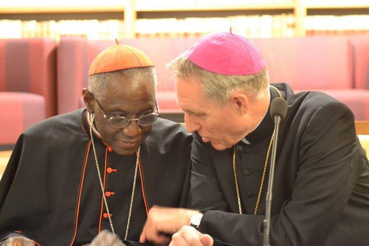 """ROBERT SARAH E LA FORZA DEL SILENZIO: """"Ringrazio con grande cordialità Sua Eccellenza Mons. Georg Gänswein e gli chiedo di trasmettere il mio riconoscente e deferente saluto a Sua Santità Benedetto XVI, che mi onora grandemente con la sua vicinanza e il suo sostegno morale."""""""