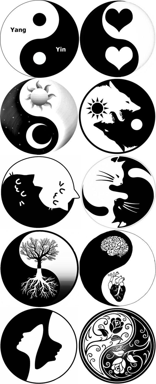 Conseils Pour Economiser Creations Recyclage Yin Et Yang Yin Yang Art Tattoo Art Drawings Ying Yang Art