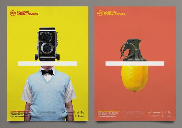 Branding and Campaign for AND Film Festival by Uniform