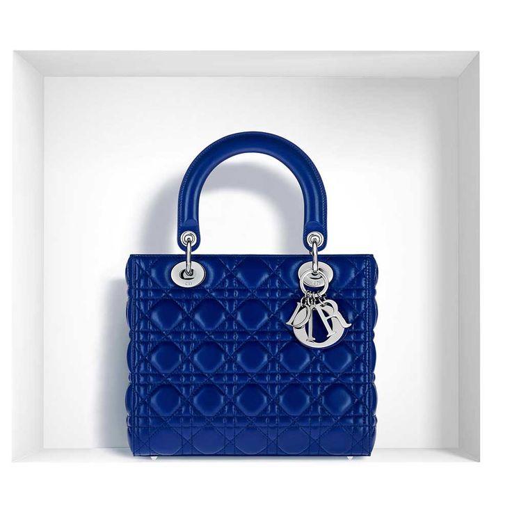 Dior - Lady Dior Çanta Lacivert - 10 #Dior #Dior-LadyDior #Çanta