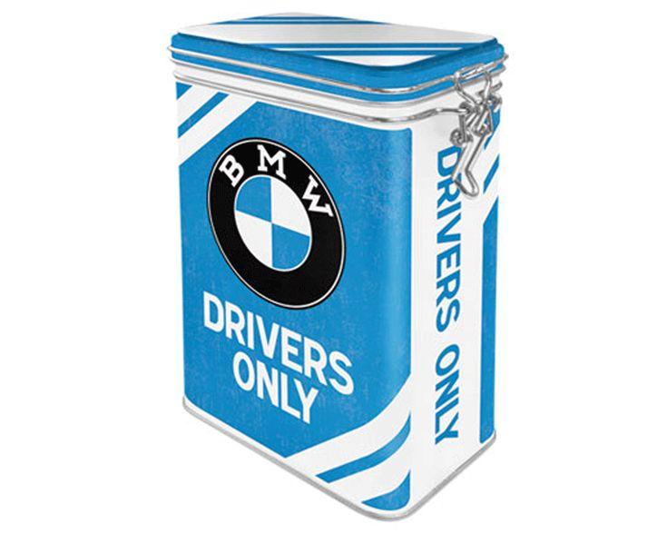 Plåtburk BMW DRIVERS ONLY 400 g Plåtburkar