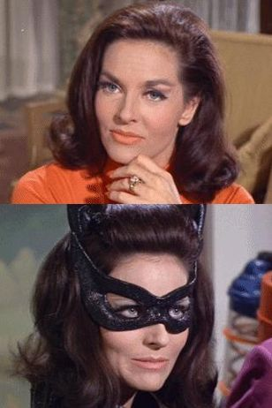 Lee Meriwether as Catwoman in the 1960s Batman TV series.