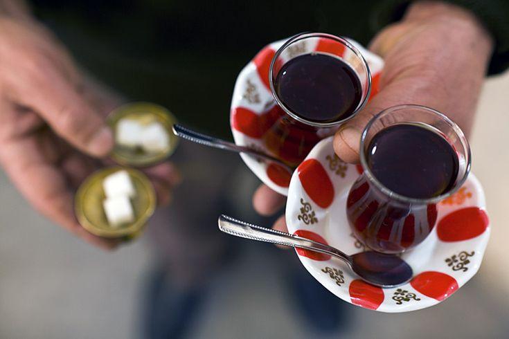Turkish Çay (tea) by David Hagerman