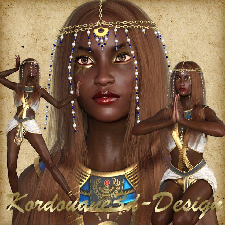 Mansourah : tube de femme (Egypte ancienne)