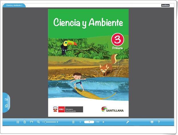 """Recursos didácticos para imprimir, ver, leer: """"Libro digital de Ciencias Naturales de 3º Primari..."""