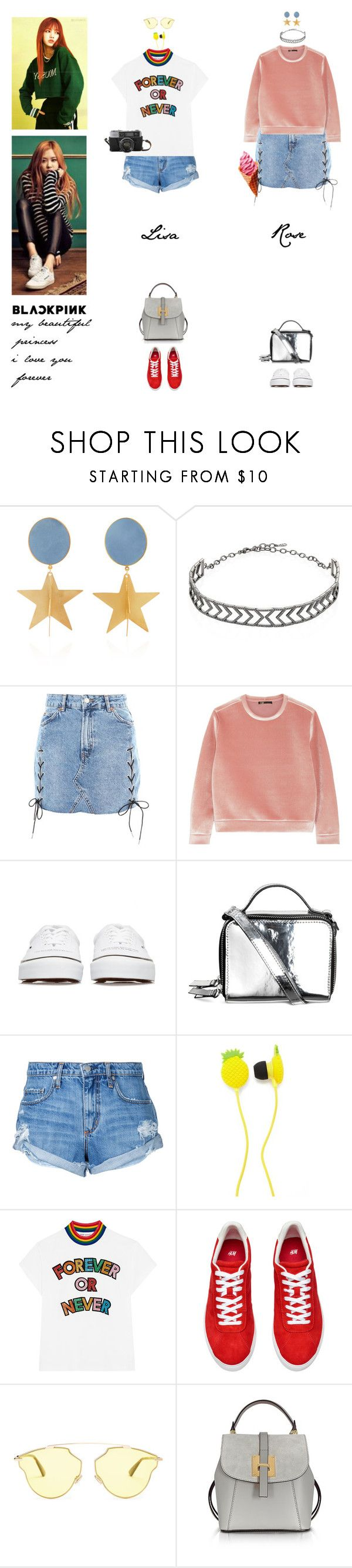 """""""CHAELIS this week"""" by www-som ❤ liked on Polyvore featuring Silhouette, Adriana Orsini, Topshop, Maje, Undercover, Lime Crime, Nobody Denim, Forever 21, Mira Mikati and Christian Dior"""