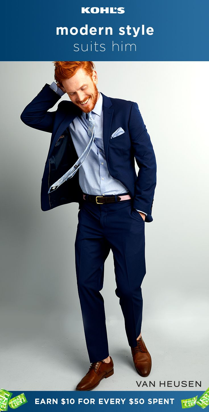 This Van Heusen Flex Slim Fit Suit Is Flexible In More Ways Than One Hello Versatility And Stretch Fabric The Best Mens Vans Slim Fit Suit Dress For Success [ 1447 x 735 Pixel ]