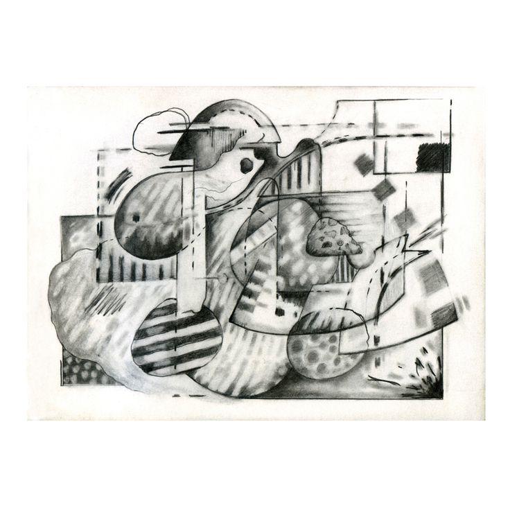 Penny Rimbaud Renaissance Drawing #6