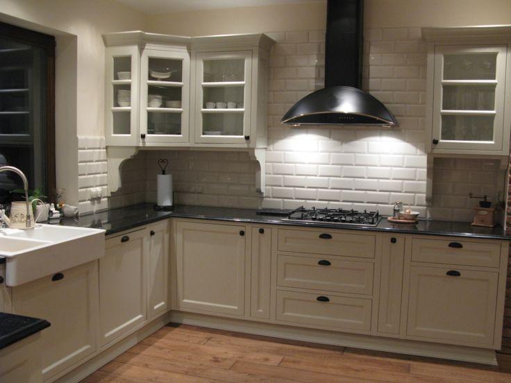 biała kuchnia  Szukaj w Google  kuchnia  Pinterest  Blo -> Biala Kuchnia Fornir