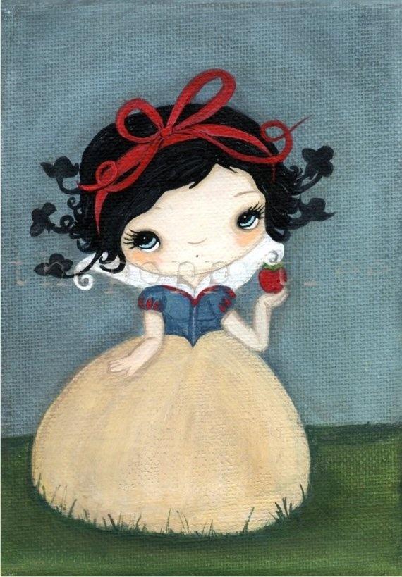 snow white art