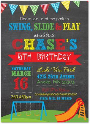 Best 25 Playground Birthday Parties Ideas On Pinterest