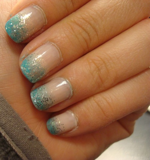 Faded nails nail designs pinterest faded nails for What is ombre design