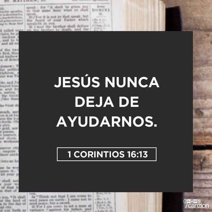 «Estén alerta. Permanezcan firmes en la fe. Sean valientes. Sean fuertes». —1 Corintios 16:13
