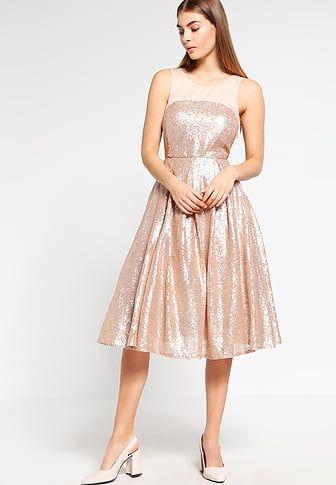 Robe de soirée - rose gold