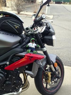 I just got my Matte Graphite Grey StripleR a few weeks ago, and it is my second bike - My first is a 2009 BMW G 650 GS. This bike is a world apart from