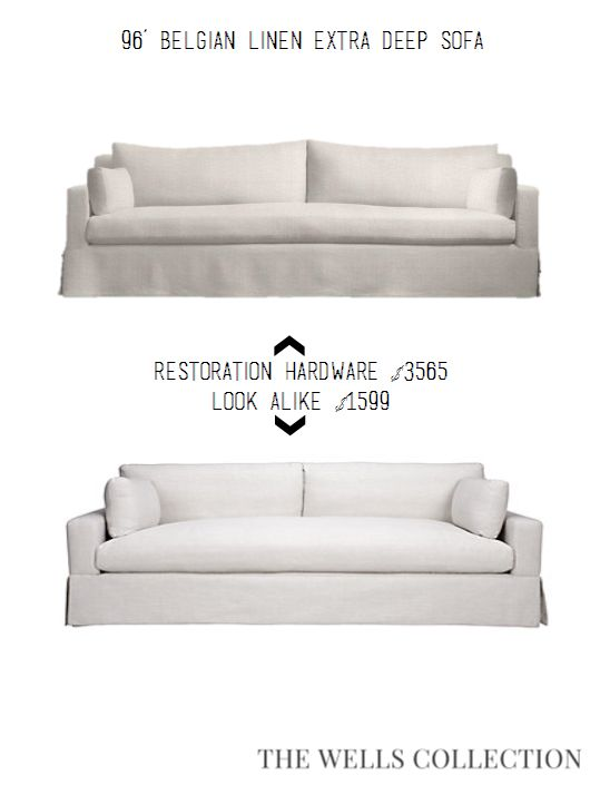 The Wells Collection | Restoration Hardware Looks for WAY Less!