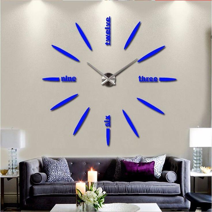 2016 nieuwe collectie Quartz klokken mode muur horloge 3d real grote wandklok overhaast home decor reloj pared gratis verzending in creatieve artikelen klok voor wand hoge kwaliteit 3d muur horloge klokAls u vragen hebt, tevreden bericht ons of mail on van muur klokken op AliExpress.com   Alibaba Groep