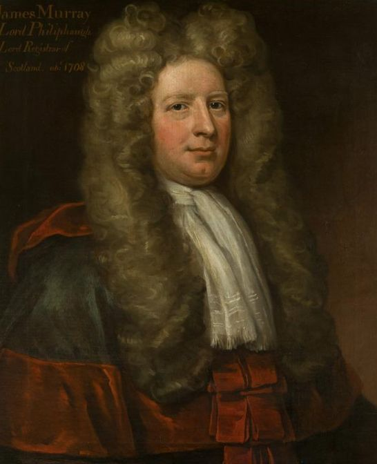 From National Galleries. Pictured is Sir James Murray around 1740. This would be an example of queer fashion because of his neatly folded cravat as well as his very high and curled hair