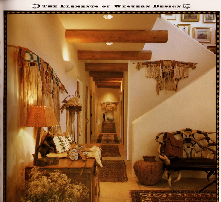 Great Beautiful Southwestern Home With Native American Inspired Decor.