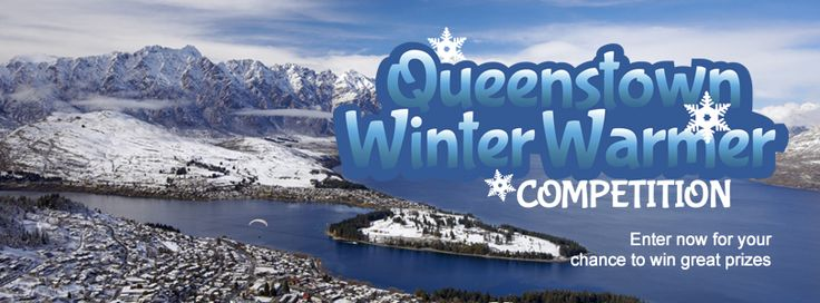 We're giving away great winter prizes every Monday for the next 6 weeks. Don't forget to come back and enter again for the next draw if you miss out this time. The Queenstown Winter Warmer competition runs until the 8th July 2013.