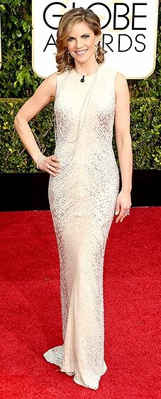 Natalie Morales: 2015 Golden Globes