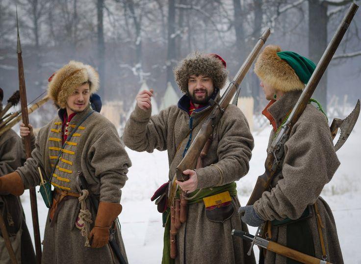Рубежи Московского царства. 17 в.