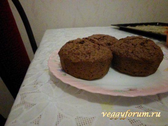 Веганские  кексы из семечкового и орехового жмыха