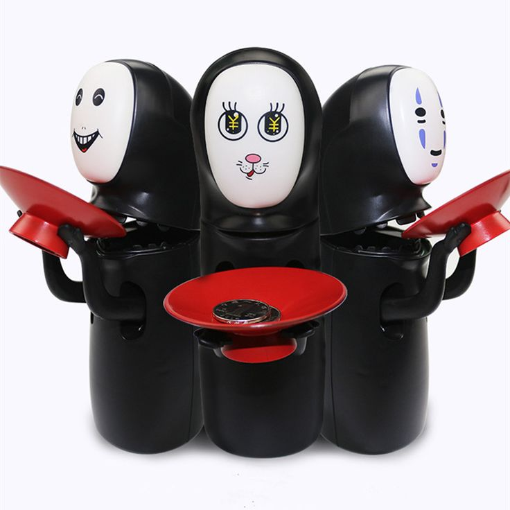 Дропшиппинг Унесенные призраками kaonashi нет Уход за кожей лица копилку игрушка нескольких стилей Хаяо Миядзаки Тихиро дизайн автоматическое едят монет банка купить на AliExpress