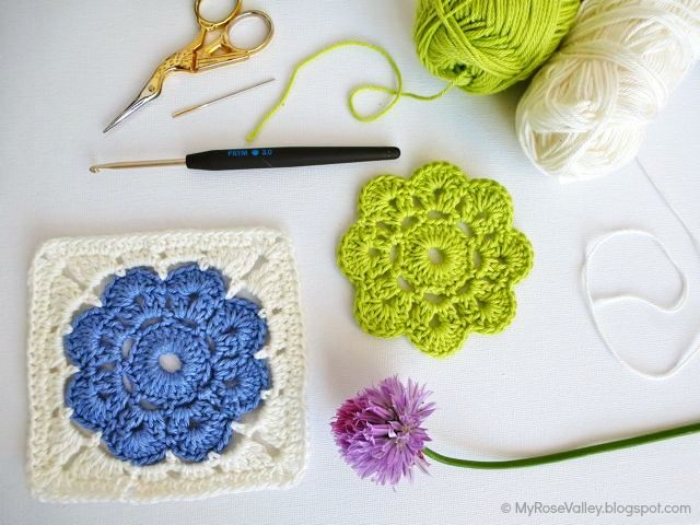 My Rose Valley: Maybelle Square Crochet Pattern