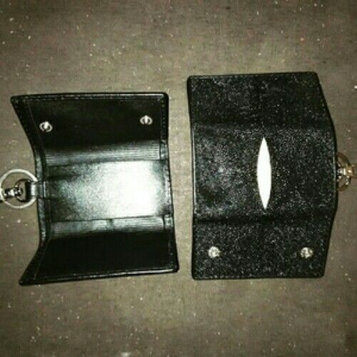 dompet STNK kulit pari