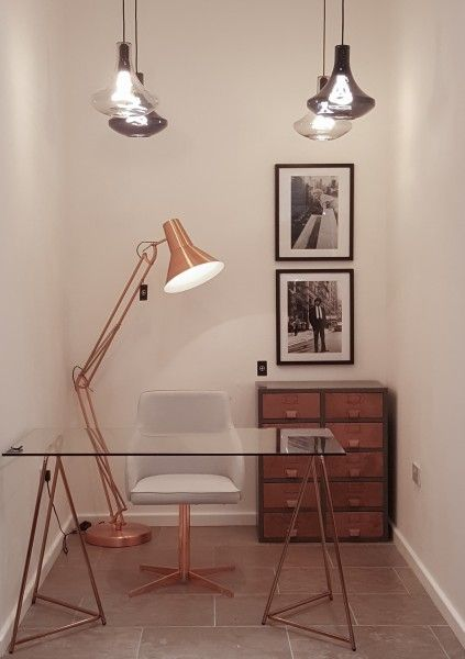 Copper interiors - a snap from our Liverpool showroom. See more at MADE.COM