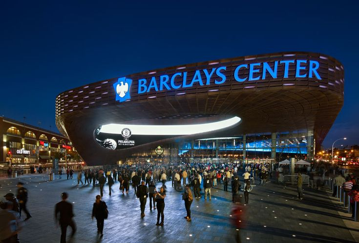 @Barclays Center may be home to the @Brooklyn Nets, but tons of artists host concerts at this new venue as well. Plus, the architecture is amazing! #NYC #events #Brooklyn