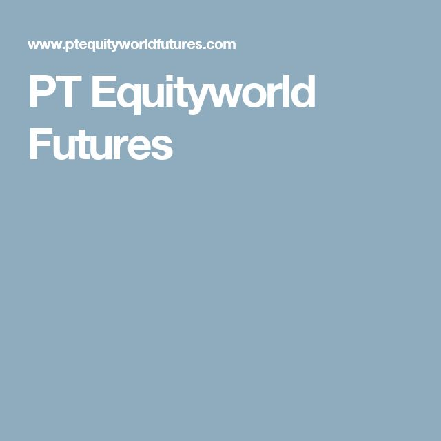 PT Equityworld Futures