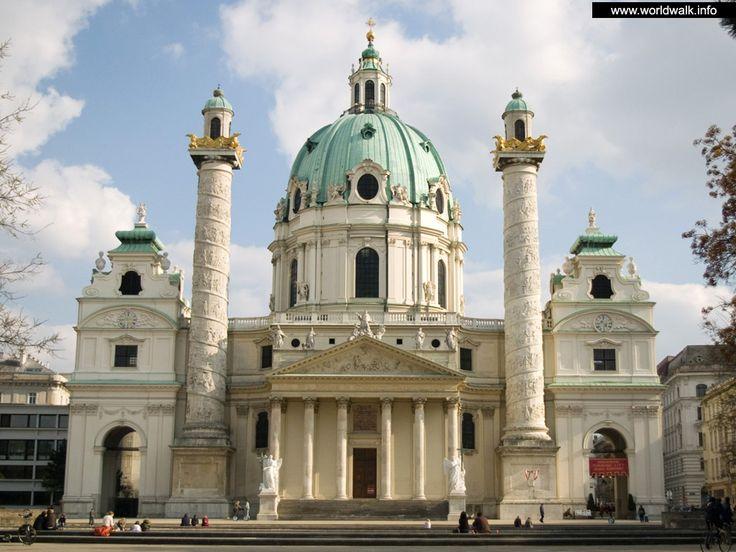 церковь+cd+Карла+в+Вене.jpg АВСТ(1024×768)Дворец Бленхейм в Оксфордшире. 1705-1724 гг. Центральная часть главного фасада