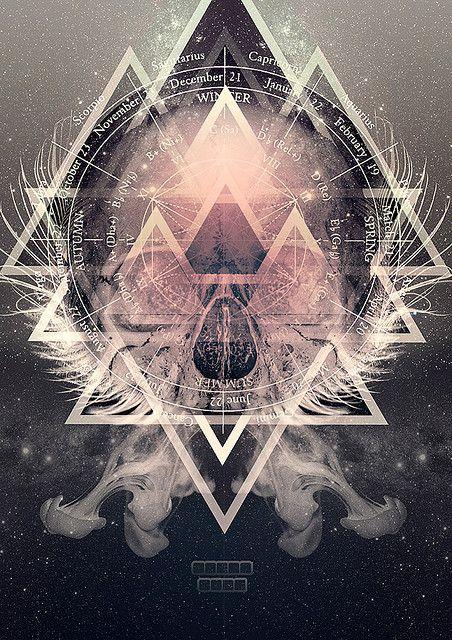 Skull Poster #poster #design #art