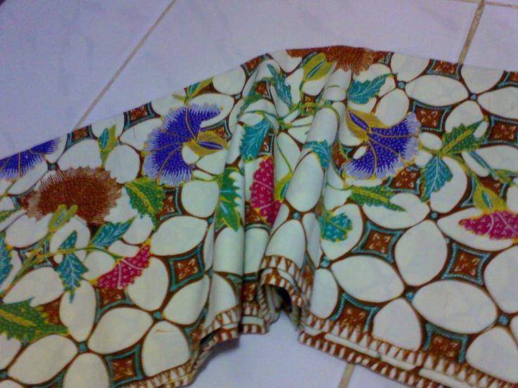 Handmade Batik from Garut, West Java, Indonesia (Garutan Kawung Buketan)