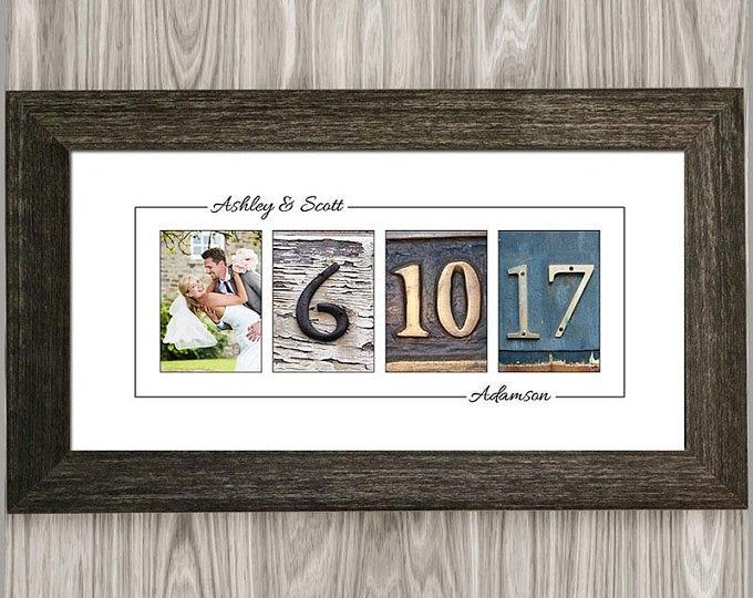 Personalized Photo Collage Canvas Engagement Gift Wedding Gift Anniversary Gift Gift For Couples Photos On Canvas In 2020 First Anniversary Gifts 1st Anniversary Gifts Anniversary Gifts For Wife